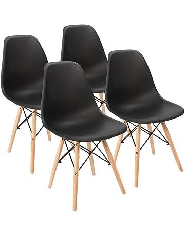 241879b07d8 KunstDesign Eames Style Chairs Set de 4