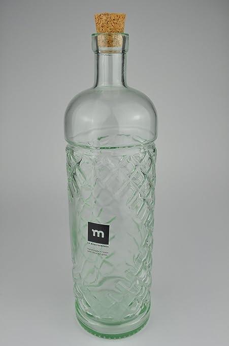 Se puede emplear como botella de licor botella de Anis - La mediterránea de vidrio reciclado