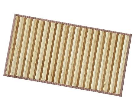 Arrediamoinsieme nelweb tappeto bamboo legno stuoia cucina bagno
