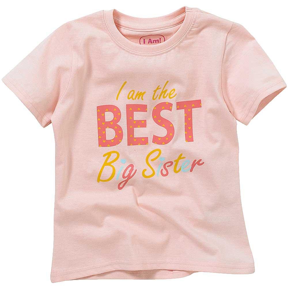 Childs Boys Girls Best Big Little Brother Sister Birthday T-Shirt Tops Short Sleeve Cotton