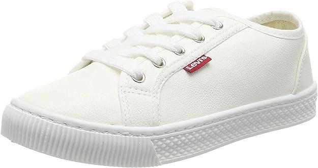 Levi's Malibu Beach S Sneakers Damen Weiß (Glatt)
