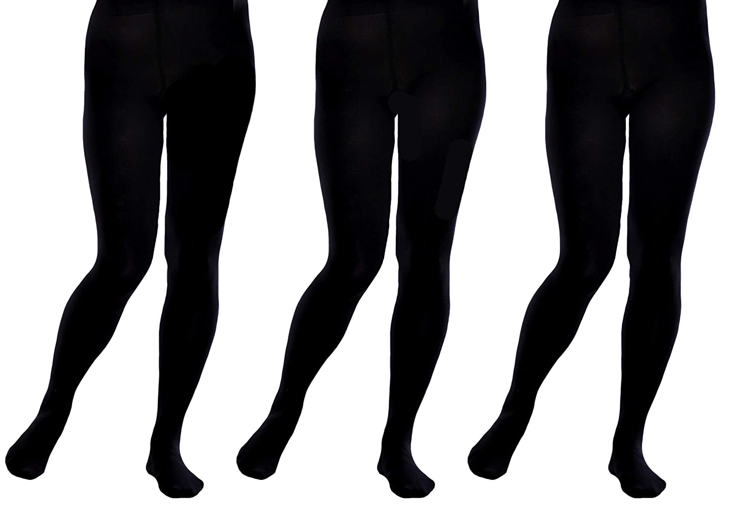3 PAIRS OF GIRLS LOVELY SHOOTING STARS /& MOON OPAQUE TIGHTS