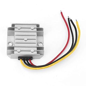 Convertisseur De Tension Abaiss/é 12V 24V /à 5V 10A 50W R/égulateur De Tension Abaisseur R/égulateur De Tension Transformateur De Tension Dalimentation De Voiture