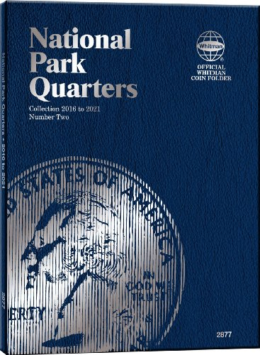 2016 Collectors - Whitman Nat Park Blue Folder Vol II 2016-2021