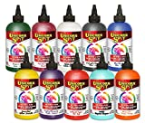 Unicorn SPiT Gel Stain & Glaze in One - 10 Paint Collection 8 oz bottles