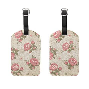 Amazon.com: Anmarco Vintage Flor Floral Cruise Luggage ...