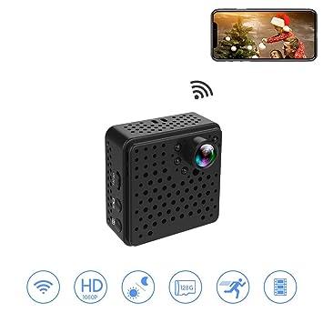 Cámara oculta de Wifi 1080P HD, WIFI Cámara de visión nocturna / detección de movimiento