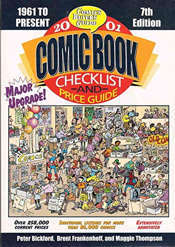 Comics Buyer's Guide Comic Book Checklist & Price Guide #2001 FN ; Krause comic book