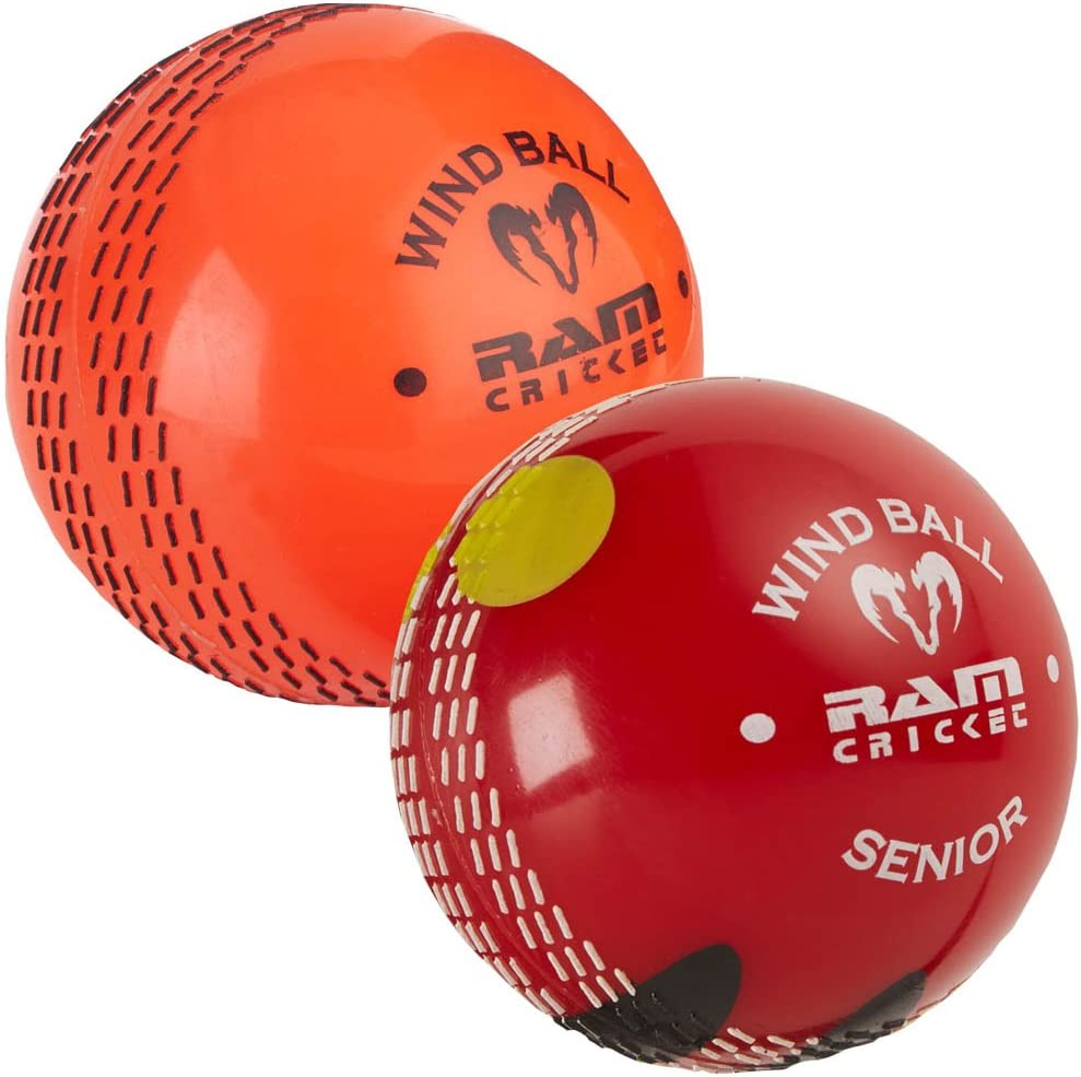 Ram Cricket Windball práctica Cricket pelota - , 6 Pack - naranja ...