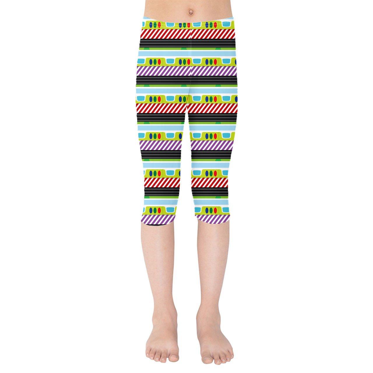 Buzz Lightyear Kids Capri Leggings