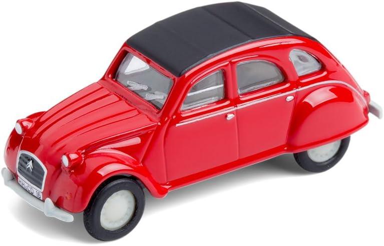 Corpus Delicti Modellauto Mit Magnet Für Kühlschrank Und Pinnwand Kultauto Citroën 2cv Rot 20 8 27 Küche Haushalt