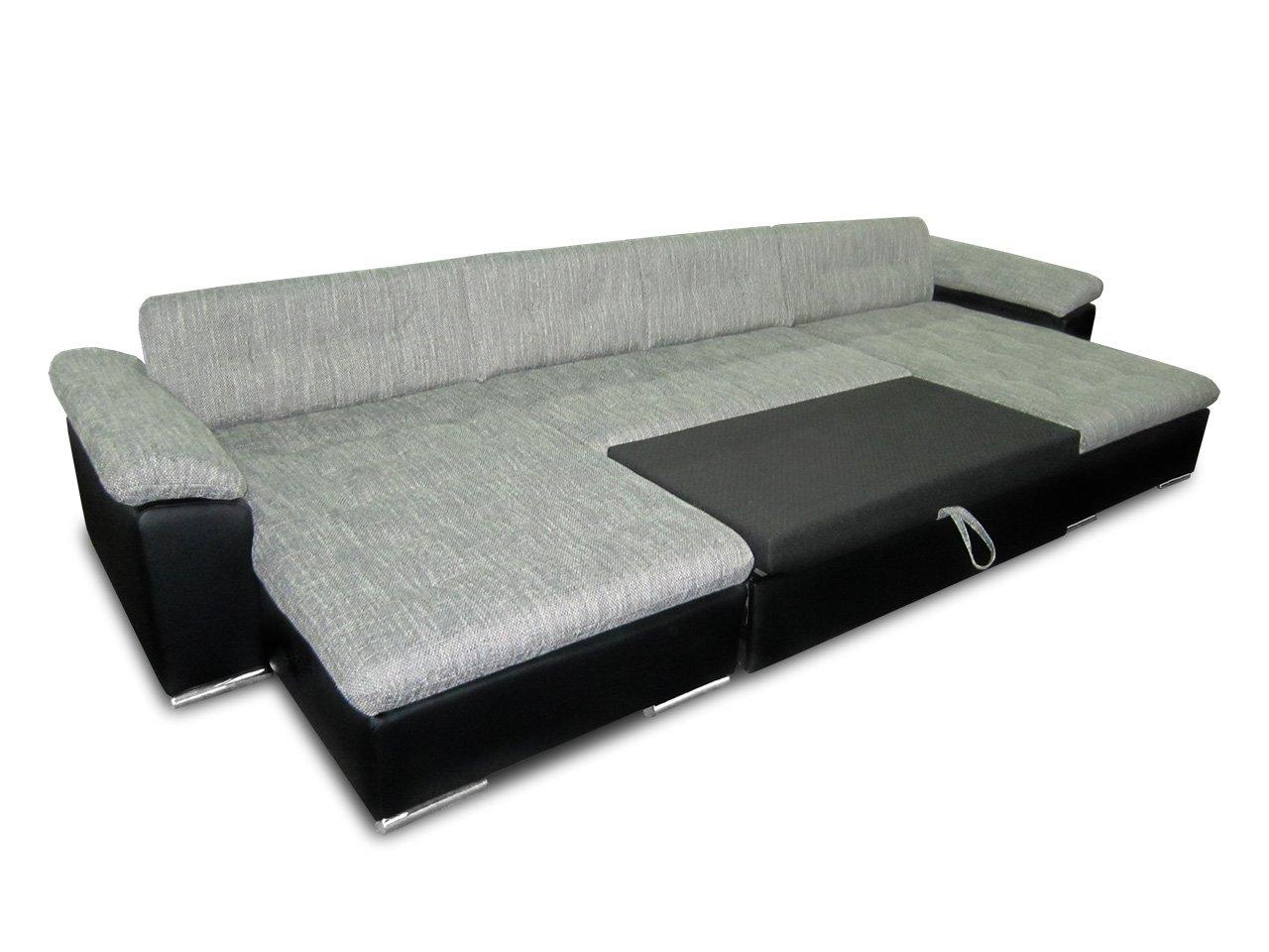 Ecksofa u form mit schlaffunktion  Ecksofa Wicenza! Design Big Sofa Eckcouch Couch! mit ...