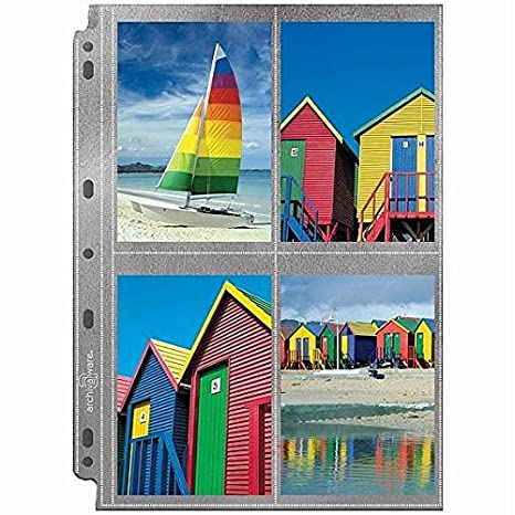 Amazoncom Lineco Polypropylene Photo Album Pages Style A 925 X