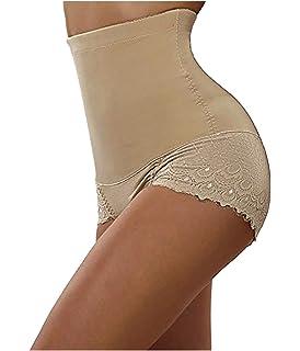 9f1e59b7d4 Nebility Women Butt Lifter Shapewear Seamless Waist Trainer Hi-Waist Tummy  Control Body Shaper Panty