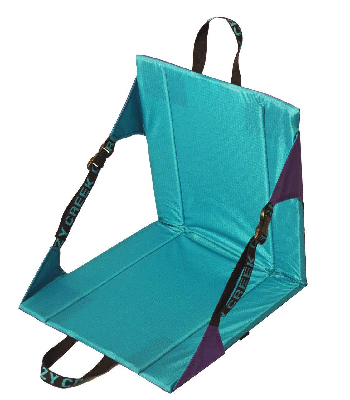 Crazy Creek Original Chair – The Original Lightweight Padded Folding Chair – Purple Teal