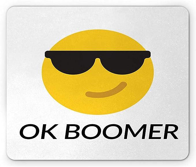 Alfombrilla de ratón Ok Boomer, gráfico Divertido con Frase ...