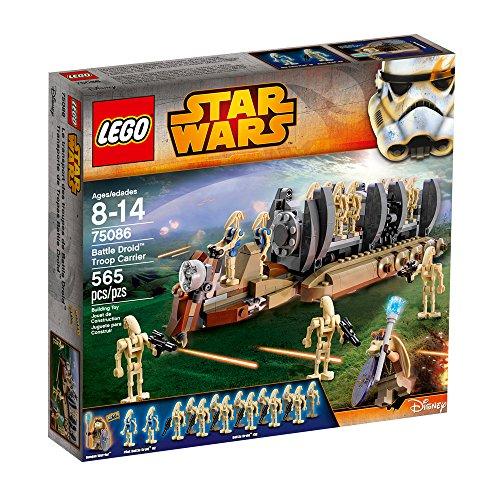 61SULS1MkKL - Lego Star Wars - 75086 Battle Droid Troop Carrier
