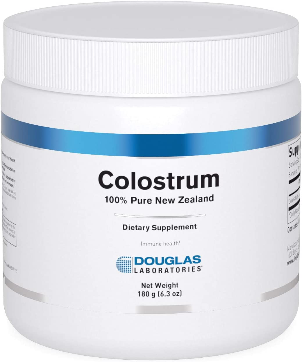 Douglas Laboratories - Colostrum 100% Pure New Zealand - Supports Immunity and Gastrointestinal Health - 6.35 Ounces