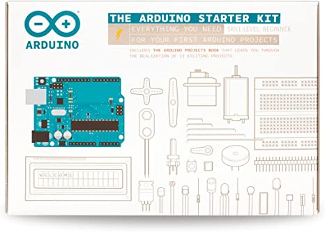 The Arduino Starter Kit Consumer Portable Electronics//Gadgets Official Kit from Arduino with 170-page Arduino Projects Book