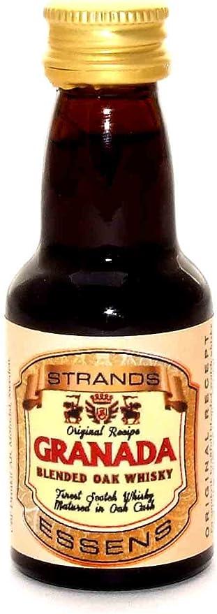 Strands Granada - Aroma de Ron para Vodka o Alcohol, Sabor ...