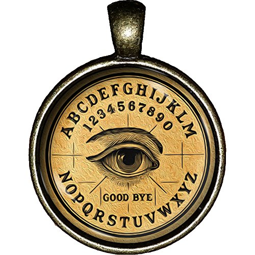 Ouija Board Necklace Witch Gypsy Halloween Fortune Teller Occult