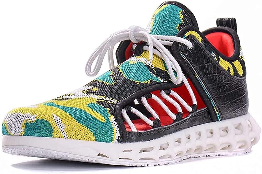soulsfeng Baskets de conception unique pour homme de l'avenir créatif 3D ajouré à séchage rapide chaussures de mode Wading sandales Camouflage