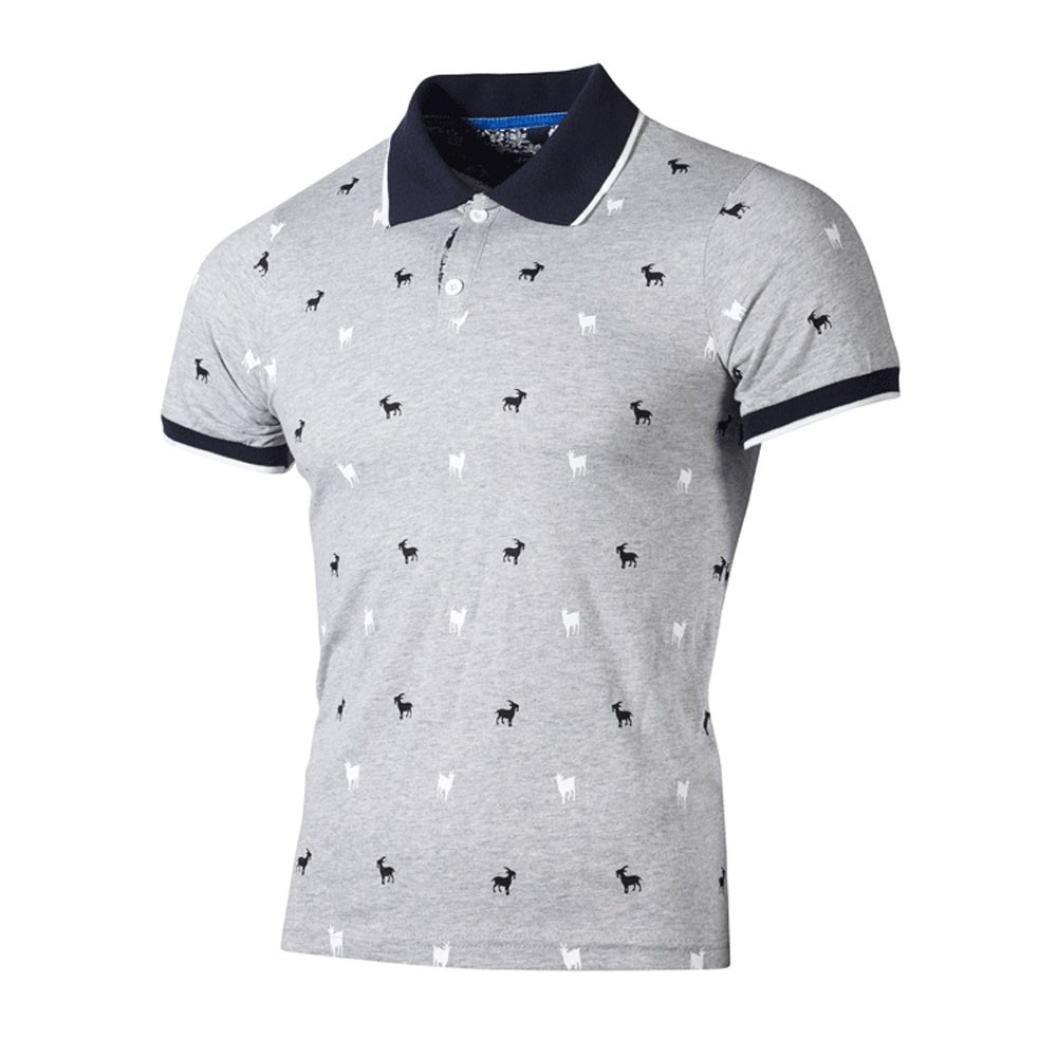 S-5XL Damen V-Hals Knöpfe 3//4 Arm Freizeit Schlank Lässig Hemd Tops Bluse Shirt