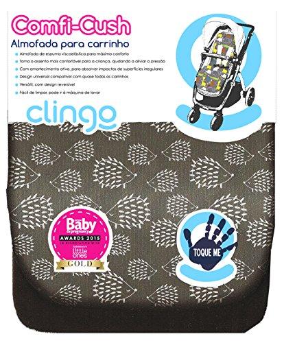 CuddleCo Funda Silla de Paseo de Espuma Viscoelastica Comfi-Cush Gris Carrito