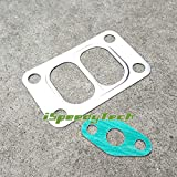 T3/T4 T04E T3 Turbo Turbine Inlet gasket two scroll with paper Gasket