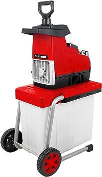 Matrix 320300150 - Trituradora con cesta de recogida (2800 W, ramas de hasta 4,4 cm): Amazon.es: Bricolaje y herramientas
