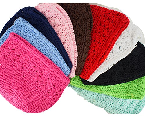Price comparison product image Trimweaver Kufi Cap Variety Pack, 10 Caps, Multicolor