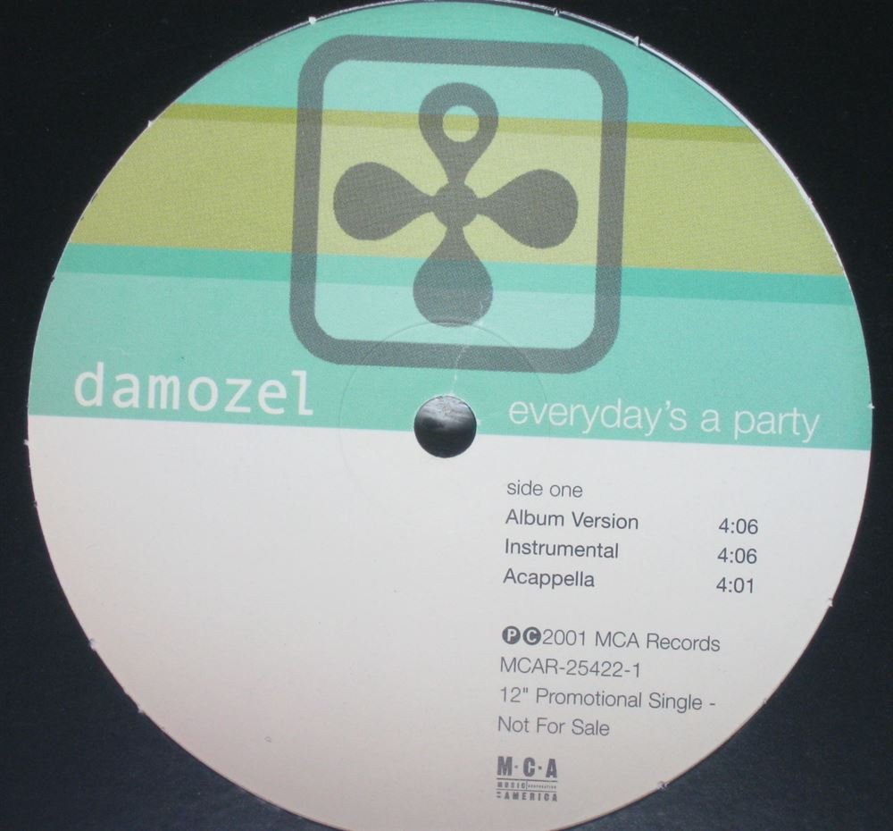 Everyday's a Party [12 inch Analog]                                                                                                                                                                                                                                                                                                                                                                                                <span class=