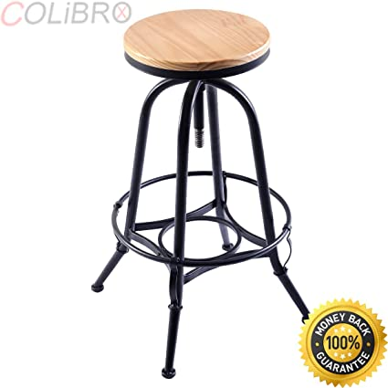 Fine Amazon Com Colibrox Set Of 2 Vintage Bar Stools Industrial Machost Co Dining Chair Design Ideas Machostcouk