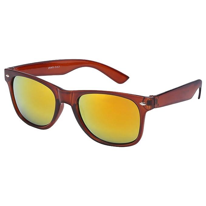 Di alta qualità, in gomma Nerd-Occhiali da sole Vintage, stile Wayfarer, Unisex, con cerniere a molla da 101 colori diversi modelli a scelta dark green - smoke