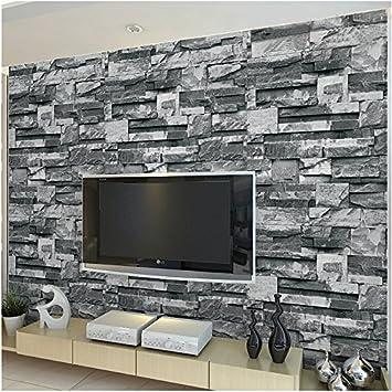 3D-JANEW marmor stein Wand Papier Leinwand matt TSING Steine ...