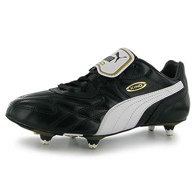 81be747e362b PUMA Mens King Pro SG Mens Football Boots Black White UK 11