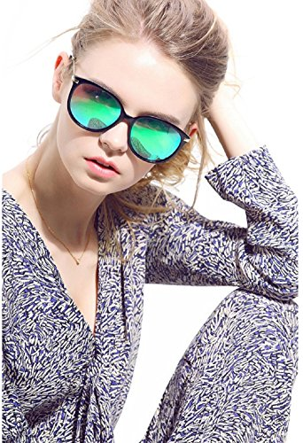 Diamond Candy Women's Sunglasses UV Protection Polarized eye glasses Goggles UV400 - Mirrored Sunglasses
