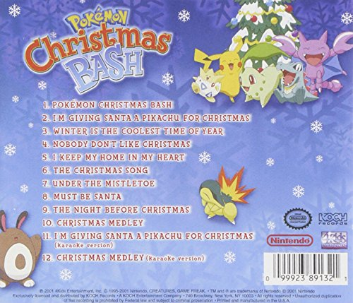 Pokemon christmas bash is what your x-mas playlist needs – miscrave.