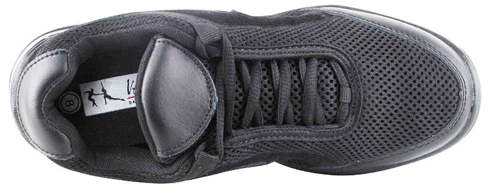 Bundle- 4 items - Very Fine Mens Womens Unisex Practice Dance Sneaker Split Sole VFSN008 Pouch Bag Sachet, Black 13 M US by Very Fine Dance Shoes (Image #6)