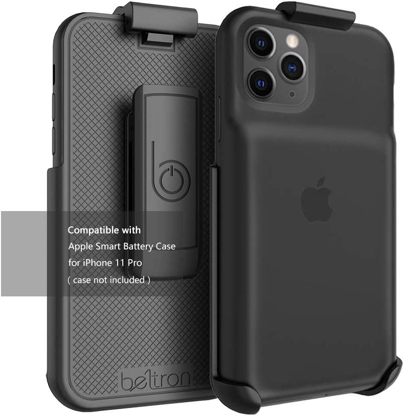 Belt Clip Holster Compatible with Apple Smart Battery Case (for iPhone 11 Pro 5.8) - Smart Case NOT Included