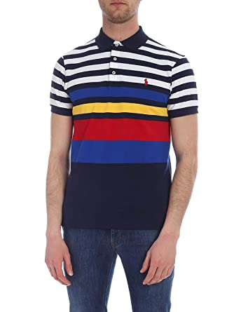 Ralph Lauren Luxury Fashion Hombre 710752596001 Azul Polo ...