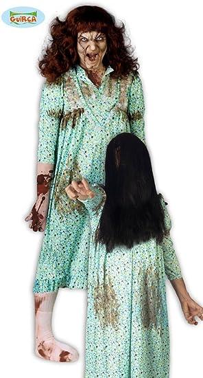 Disfraz de Niña del Exorcista (Talla 42-44): Amazon.es: Juguetes y ...