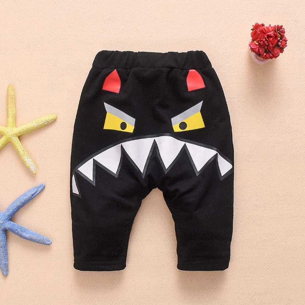 WOCACHI Toddler Baby Boys Clothes Toddler Baby Boys Girls Long Sleeve Shark Tops+Pants Pajamas Sleepwear Outfit