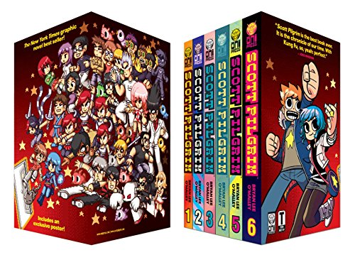 Scott Pilgrim 6 Volume Boxed Set [With Poster]