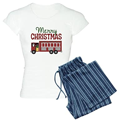 Amazon.com  CafePress - Firefighter Christmas - Womens Novelty ... 586a969d8