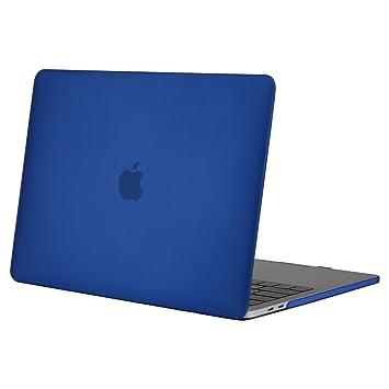 MOSISO Funda Dura Compatible 2019 2018 2017 2016 MacBook Pro 13 con/sin Touch Bar A1989 A1706 A1708 USB-C, Ultra Delgado Carcasa Rígida Protector de ...