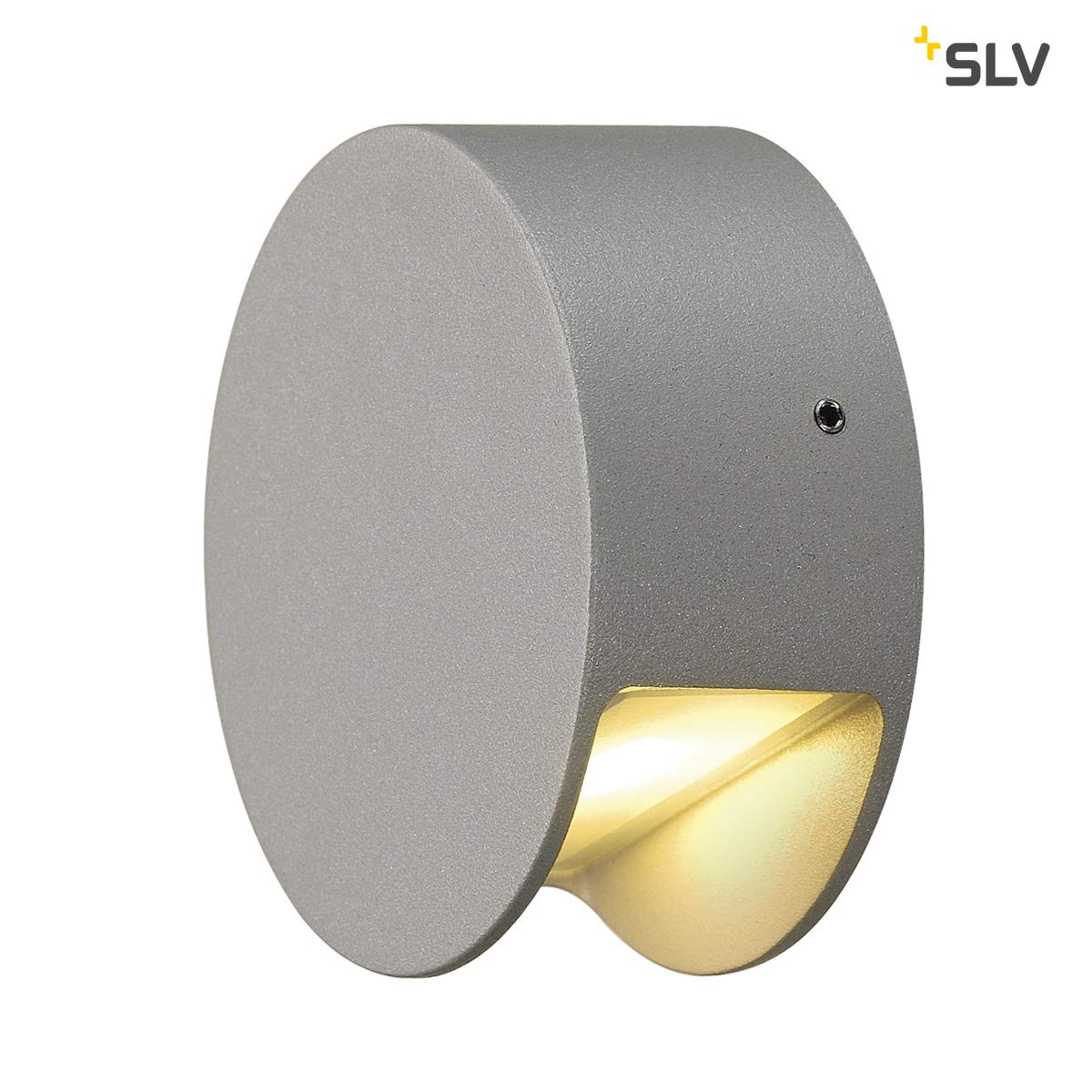Silber Rund SLV PEMA Leuchte Aluminium Silber