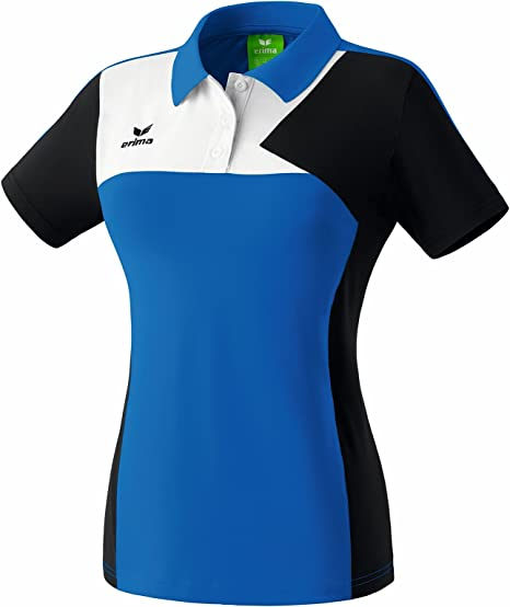 Amazon.com : Erima Womens Polo Shirt Small Blue/Black/White : Sports & Outdoors