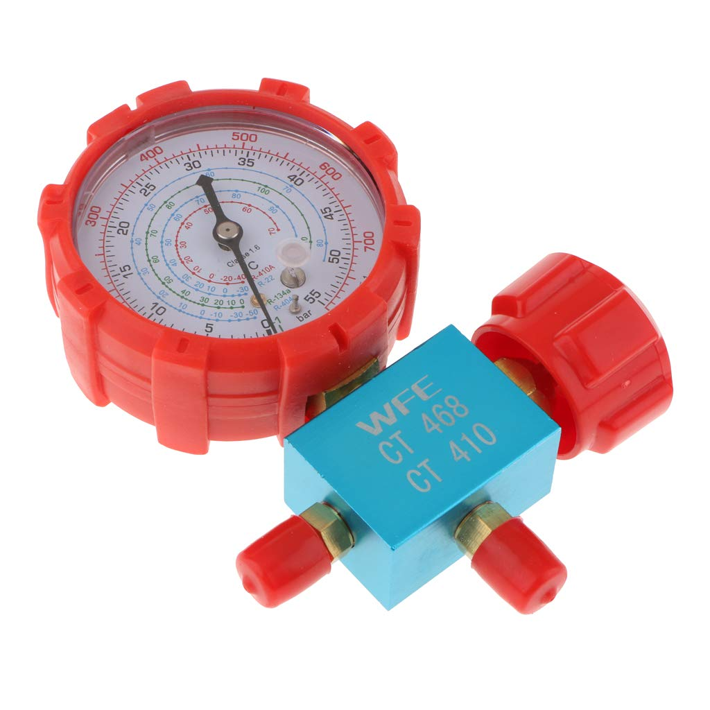 MagiDeal Valve Single Gauge Automobile Air Conditioning Cold Coal Meter
