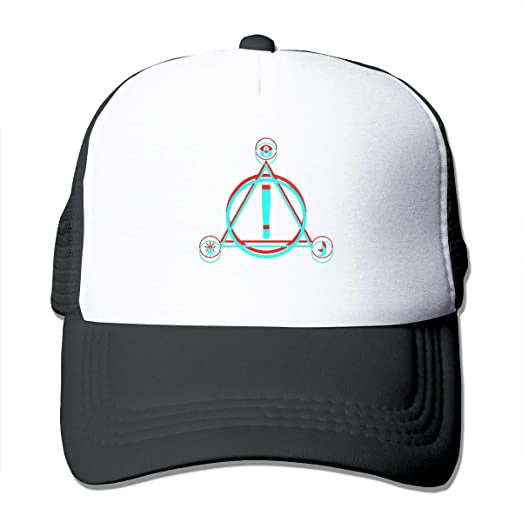 aed01bd6ca2 Bigsooyeest 3D Print Panic! at The Disco Pray for The Wicked Classic Unisex  Adult Trucker Cap Hat Mesh Back Trucker Hats Black at Amazon Men s Clothing  ...